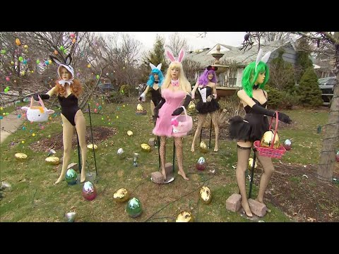 Scott Sloan - New Jersey Neighbors Squabbling Over Playboy-Inspired Easter Decorations