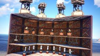 I found the ULTIMATE TRAP/TURRET base! SOLO RAIDING