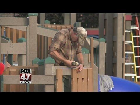 Wacousta Elementary School unveils 'Dream Depot 2.0' playground