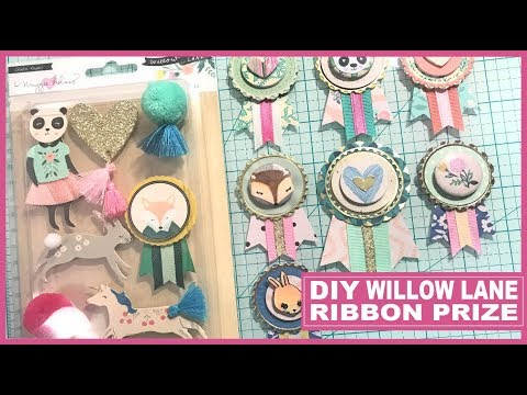 DIY Maggie Holmes Willow Lane Prize Ribbon