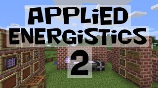 Applied Energistics 2 Tutorial #2: Me Networks And Storage (mc 1.7.2 / 1.7.10)