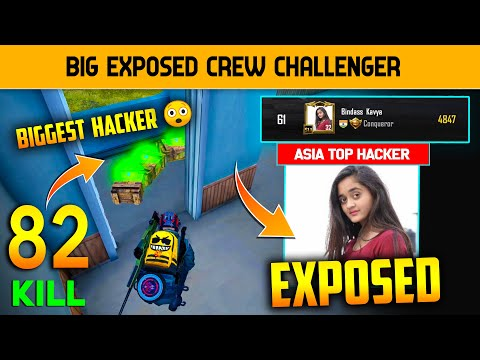 😡 82 Kills Asia Top Hacker Exposed And Crew Challenge Biggest Hacker Exposed   Hacker Girls Expose