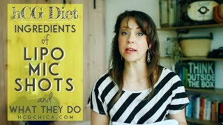 Ingredients of lipo mic shots on the hCG Diet