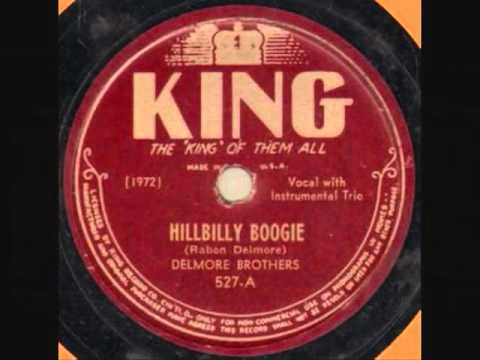 HILLBILLY BOOGIE - DELMORE BROTHERS