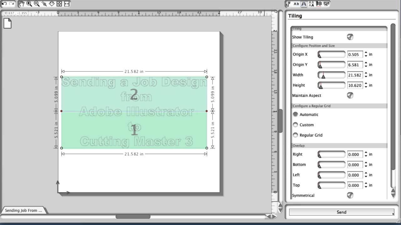 Graphtec CE6000 Cutter Training - Cutting Master 3