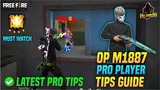 Freefire Latest M1887 Tips and Trick For mobile | One Tap Headshot Total Explain for freefire
