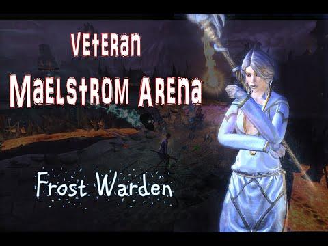 ESO - vMA (pure frost warden) - Theater of Despair (Stage 9, Final Round)
