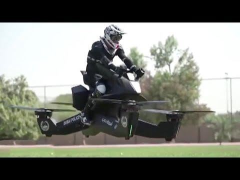 Flying motorbike: Dubai's