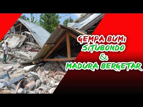 Gempa Bumi di Situbondo   Jawa Timur Sumenep Madura