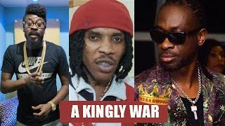 Vybz Kartel Pl$$ Off Beenie Man With This..Bounty REACTS To Kartel On FOX5 | Mavado In It Too?
