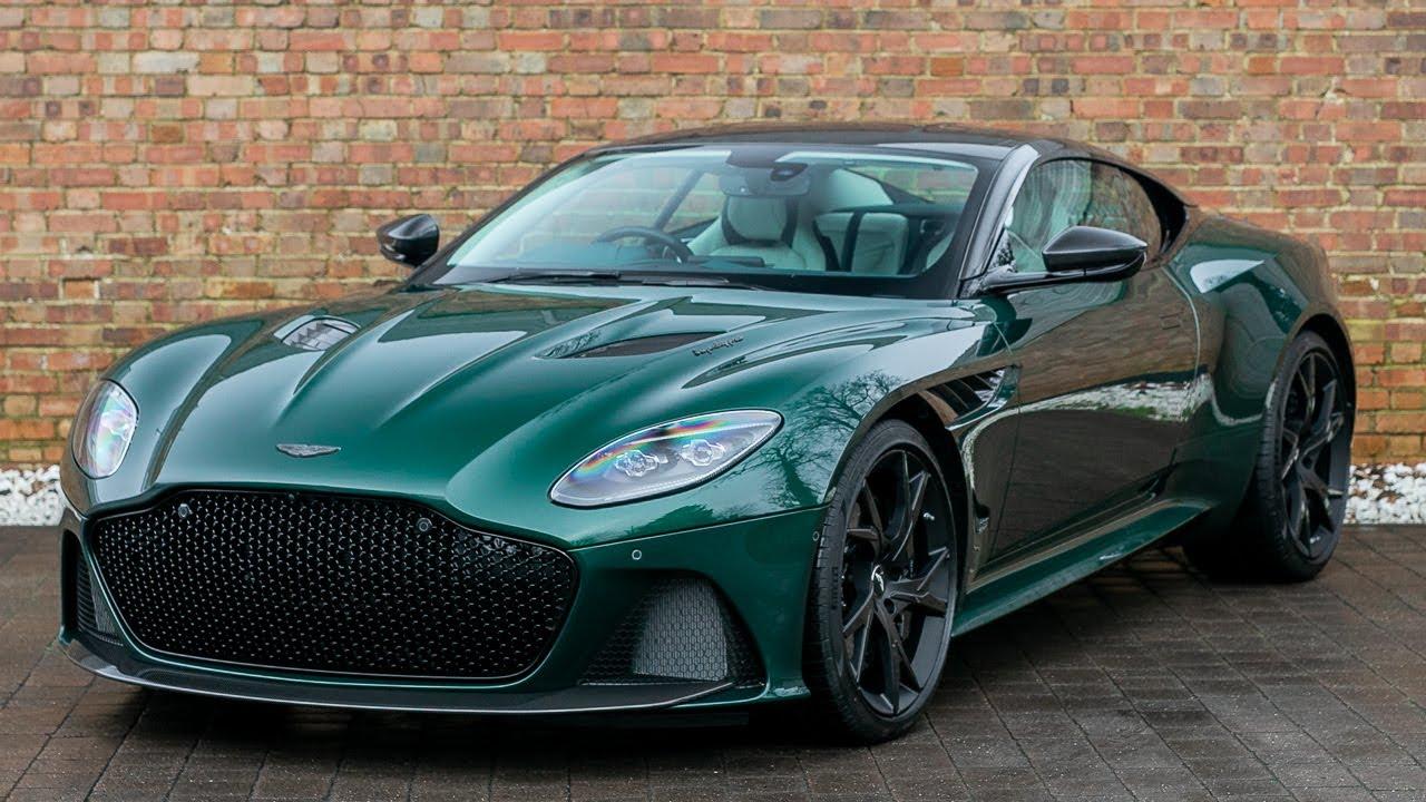 14 Aston Martin DBS Superleggera - Buckinghamshire Green - Walkaround,  Interior & Exhaust Sound | green aston martin