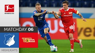 #tsgfcu | highlights from matchday 6!► sub now: https://redirect.bundesliga.com/_bwcs watch the bundesliga of tsg hoffenheim vs. union berlin from...