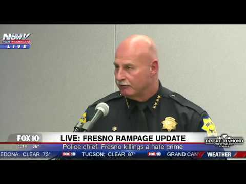 FNN: Fresno Police Announce Victims in Shooting Rampage (FULL PRESS CONFERENCE)