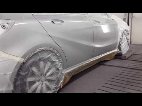 Mercedes A-klasse blending silver  (tips&tricks)
