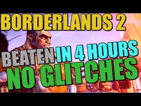 """Borderlands 2 Beaten in 4 hours """"Glitchless"""" Speedrun."""