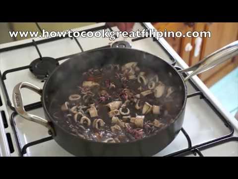 Adobong Pusit Squid Recipe - Pinoy PhilippinesFilipino 