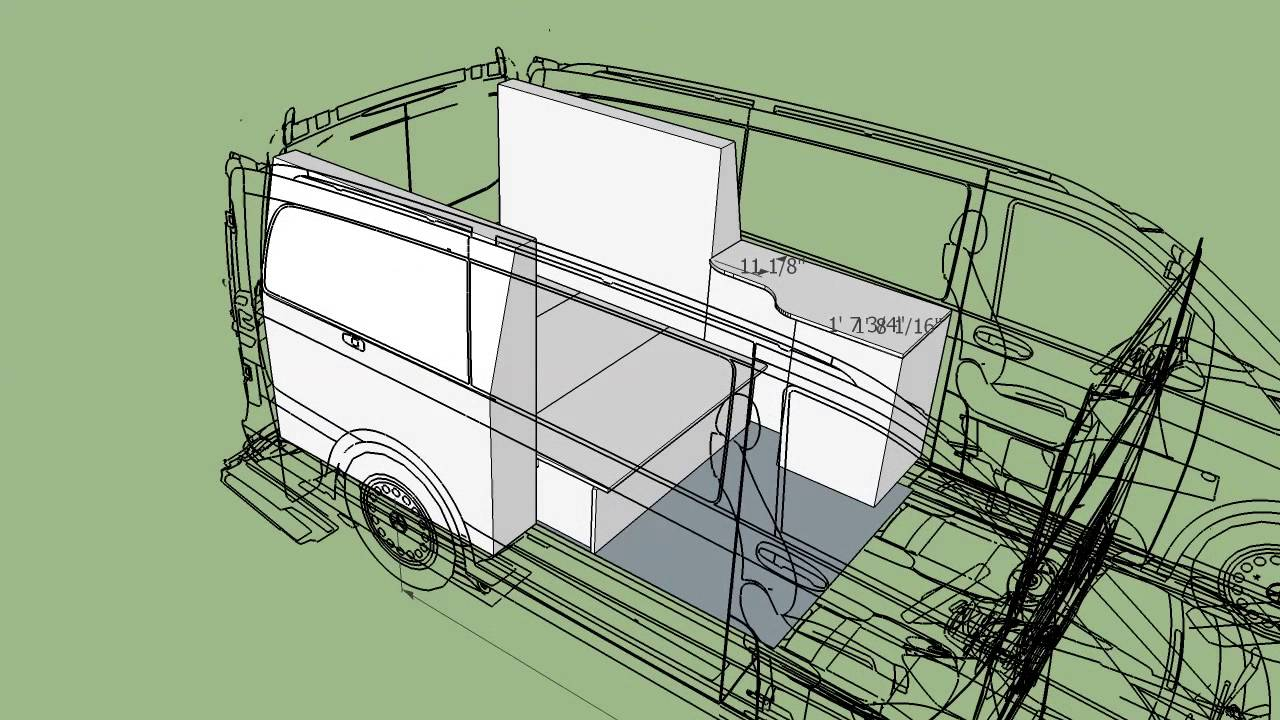 Mercedes Metris Van >> metris camper van rv conversion design for morehead design lab - YouTube