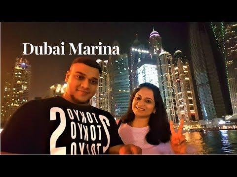 DUBAI MARINA WALK | JUMEIRAH LAKE TOWERS  - AWESOME PLACE TO SPEND AN EVENING IN DUBAI
