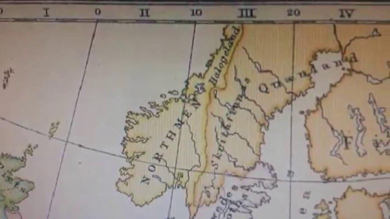 Suomen Vanhat Kartat Vuodet 300 1300 Youtube