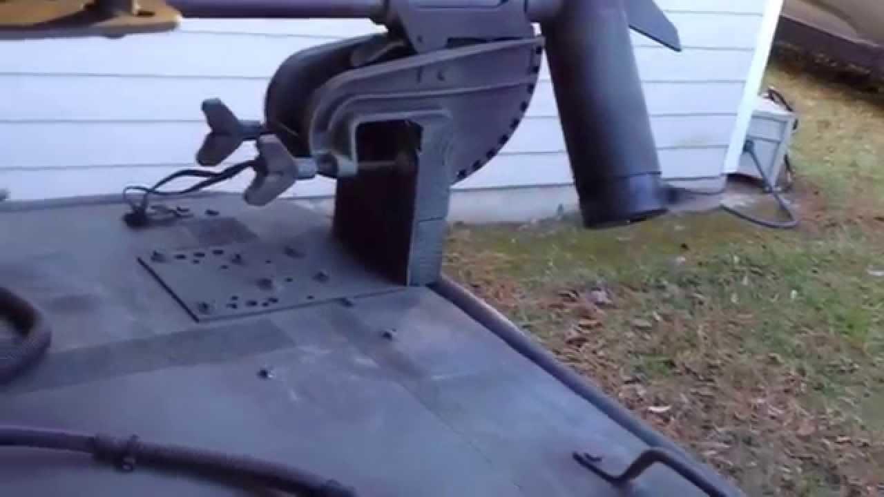 Budget Trolling Motor Foot Switch Youtube