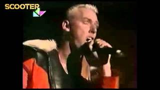 Scooter -8- Let Me Be Your Valentine (Live In Vilnjus 1997)HD