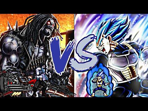 Lobo vs Vegeta