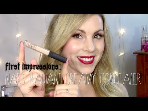First Impressions | NARS Radiant Creamy Concealer - YouTube