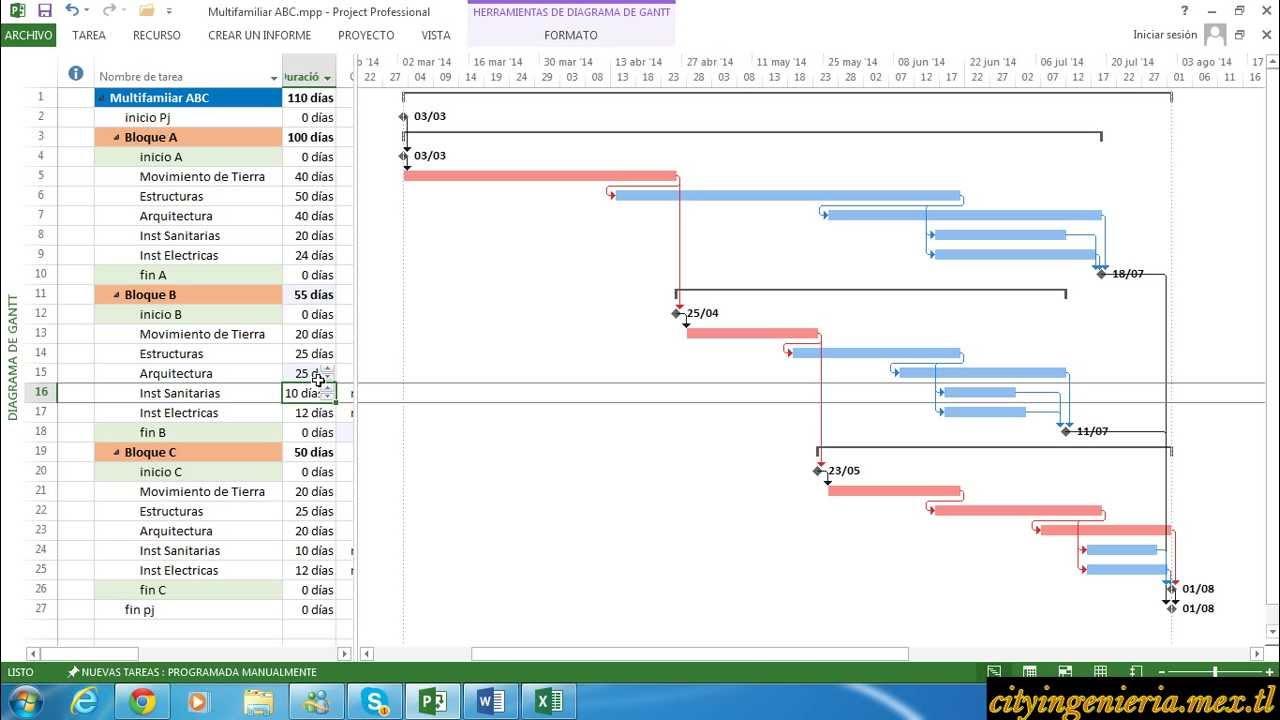 Microsoft Project 2013 - Facil de Aprender (1/2) - YouTube