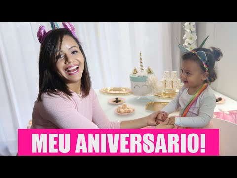 FESTA DE ANIVERSARIO DA RÊ! | RÊ ANDRADE