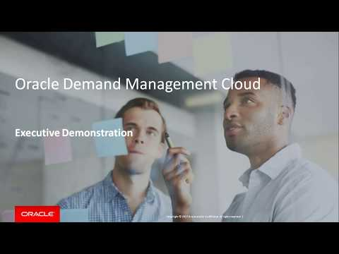 Sense, Predict and Shape Demand with Oracle Demand Management Cloud