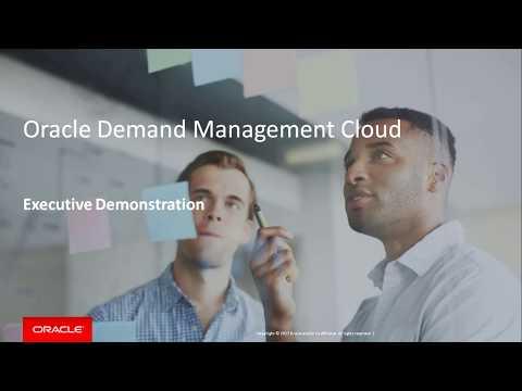 Sense, Predict and Shape Demand with Oracle Demand Management Cloud