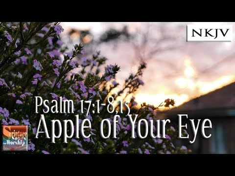"""Psalm 17:1-8,15 Song """"Apple of Your Eye"""" (Esther Mui)"""