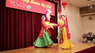ベトナム舞踊ベトナム総領事館のテトのパーティーNo3