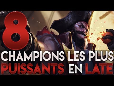 8 CHAMPIONS LES PLUS PUISSANTS EN LATE !