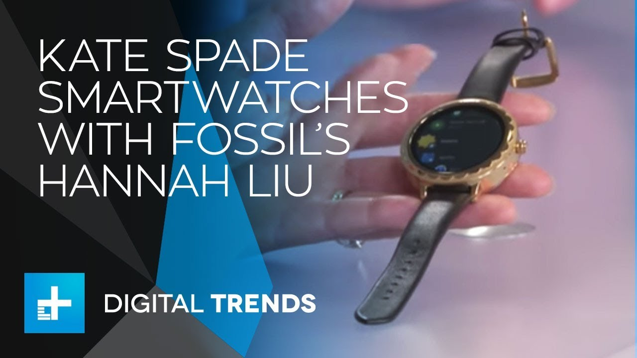 Hannah Liu, Strategy Director of Fossil Wearables with Kate Spade – Live Interview at CES 2018