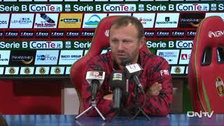 ONTV: Conferenza Roberto Breda post derby TERNANA U-PERUGIA (1-1)