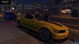 Big Russian Boss Young P H Погоня GTA 5 CLIP