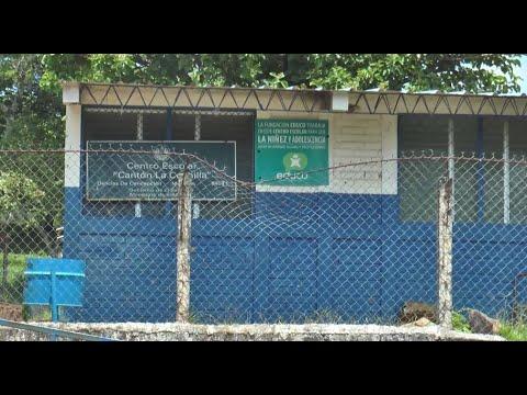 Delincuentes hurtan una escuela de Delicias de Concepción en Morazán