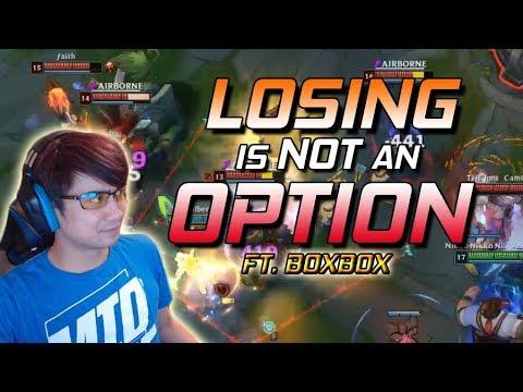 Panunu  LOSING IS NOT AN OPTION  FT BOXBOX