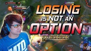 Panunu   LOSING IS NOT AN OPTION!  FT. BOXBOX
