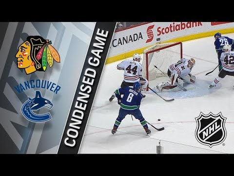 Chicago Blackhawks vs Vancouver Canucks – Dec. 28, 2017 | Game Highlights | NHL 2017/18. Обзор матча