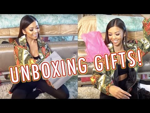 UNBOXING MAKEUP GIFTS!! | Liane V