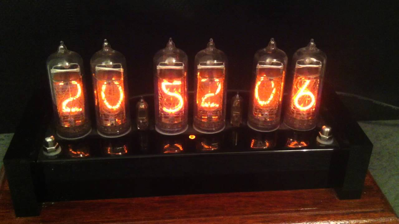 Nixie Tube Clock - How it works