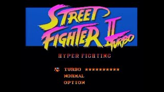 Street Fighter II Turbo [SNES] More Turbo Code
