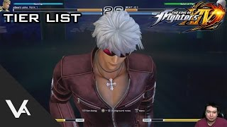The King of Fighters XIV / 14 - Good Starting Characters To Learn, Tier List