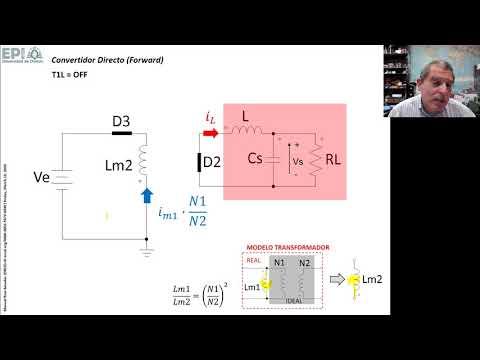 PEP-02: Convertidor continua-continua directo (Forward Converter)