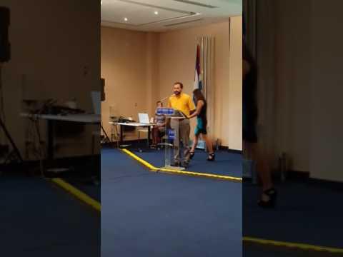 CEO da Cugnier discursa na FIHAV CUBA 2016