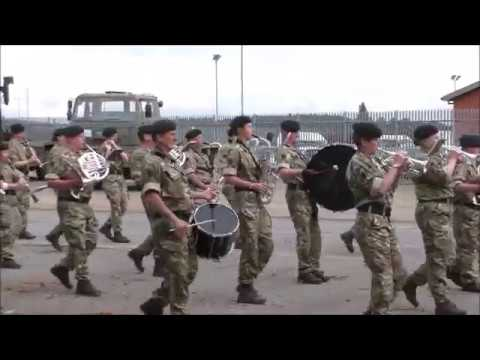 Waterloo Band and Bugles of the Rifles