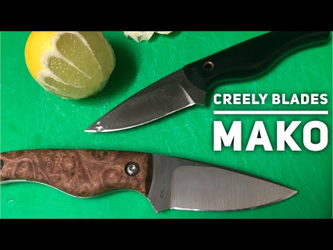 I love these: Creely Blades Mako
