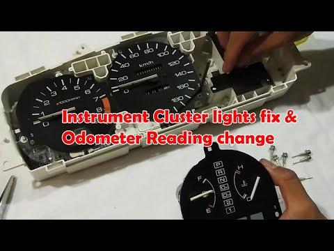 Instrument Cluster Lights Fix And Odometer Reading Change Honda Civic EG 92-95